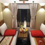 Lotus express train 2 beds in cabin